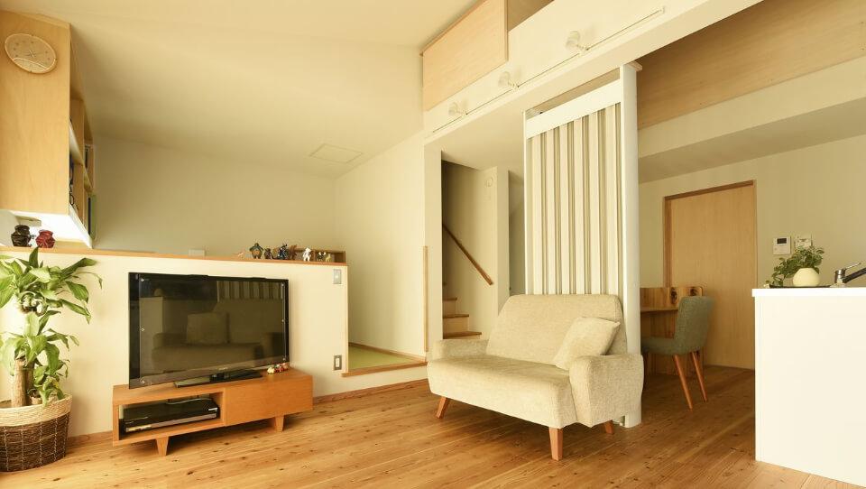 光冷暖システムを最大限に活かす、専用壁紙・専用漆喰